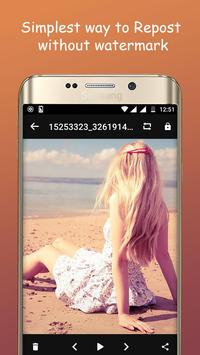 InstaSave for Instagram apk screenshot