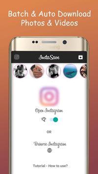 InstaSave for Instagram poster
