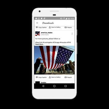 Instadownloader Photo Video Repost and Saver screenshot 1