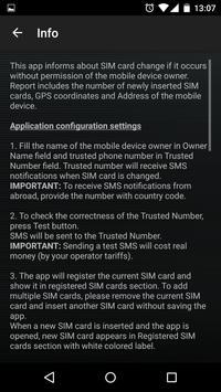 SIM Card Change Notifier screenshot 6