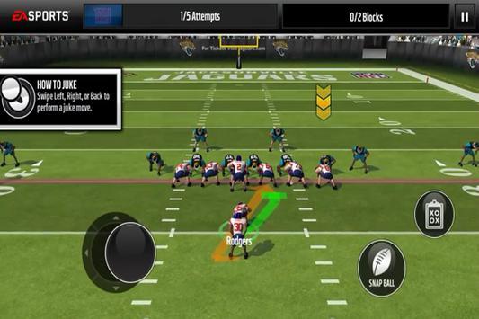 Ultimate Madden NFL Mobile Tip poster