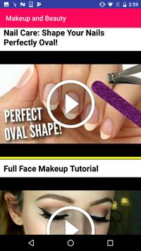 Makeup Training Beauty Tips poster