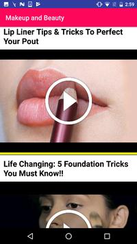 Makeup Training Beauty Tips screenshot 2