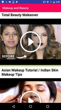 Makeup Training Beauty Tips screenshot 3