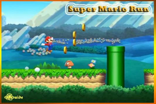 Trick Super Mario Run New poster