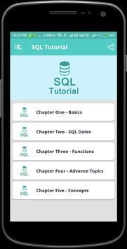 SQL Tutorial screenshot 1