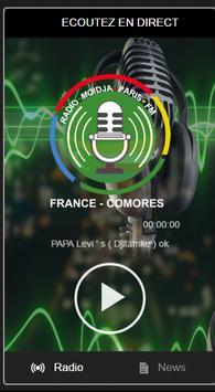 Radio Moidja Paris FM apk screenshot