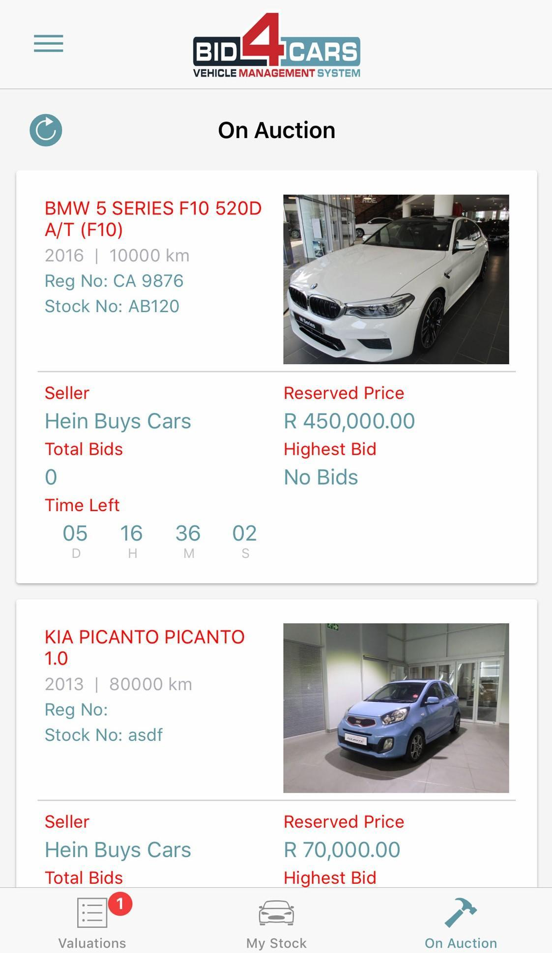 Bid4Cars for Android - APK Download
