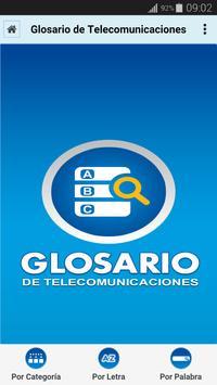 Glosario de Telecomunicaciones poster
