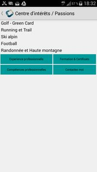 B BORNET CV for CODAPPS screenshot 1