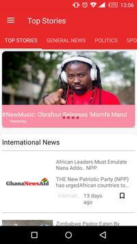 Ghana News Aid poster