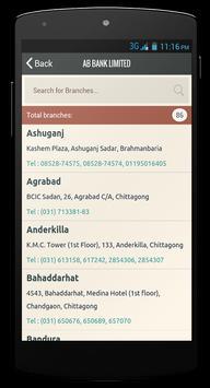 Bank & ATM Finder (Bangladesh) screenshot 3
