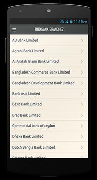Bank & ATM Finder (Bangladesh) screenshot 2