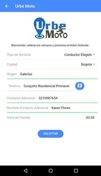 Urbe Moto Colombia (ALFA) apk screenshot