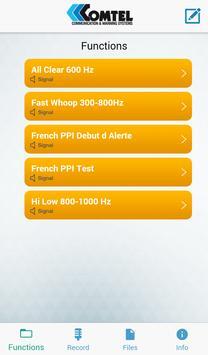 Comtel Bluetooth Siren screenshot 1