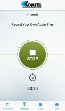 Comtel Bluetooth Siren screenshot 2