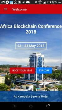 The Africa Blockchain Conference 2018 poster