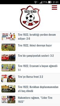 Tire 1922 Spor screenshot 1
