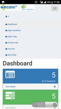 CORVI - Freight Management Application apk screenshot
