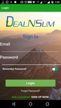 DealNSum poster
