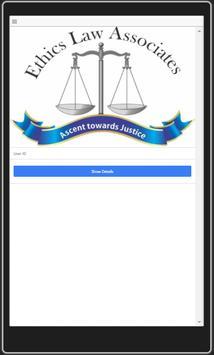 Ethics Law Associates User screenshot 2