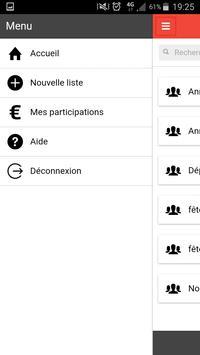 ShareMyLists: liste de cadeaux apk screenshot