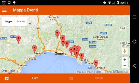 Sagre Liguria apk screenshot
