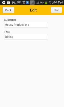 TimeCard for SharePoint Mobile screenshot 4