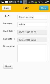 TimeCard for SharePoint Mobile screenshot 5