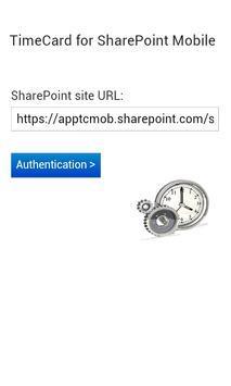 TimeCard for SharePoint Mobile screenshot 6