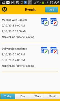 TimeCard for SharePoint Mobile screenshot 1