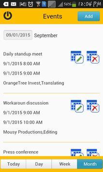 TimeCard for SharePoint Mobile screenshot 2