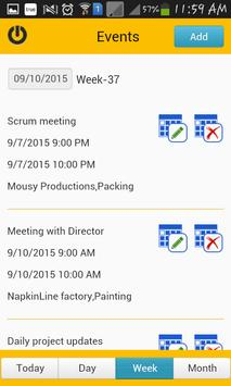 TimeCard for SharePoint Mobile screenshot 3