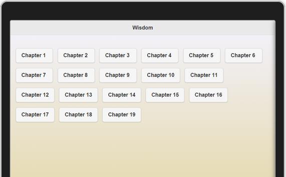 Book of Wisdom apk screenshot