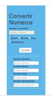 Bases Numericas screenshot 1