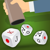Dice game - Yatzy - Generala icon