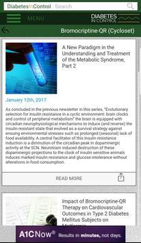 Diabetes In Control apk screenshot