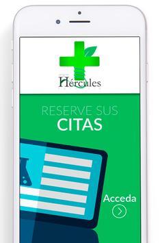 Farmacia jardines Hérculesold poster