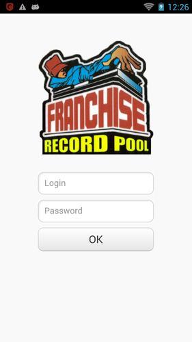 franchise record pool free password