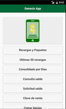 Genesis Recargas screenshot 1