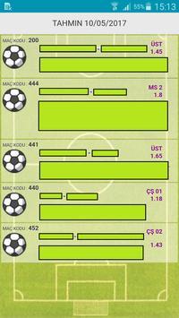 İddaa Bahis Tahmin 5 Maç screenshot 1