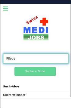 SWISS MEDI-JOBS poster