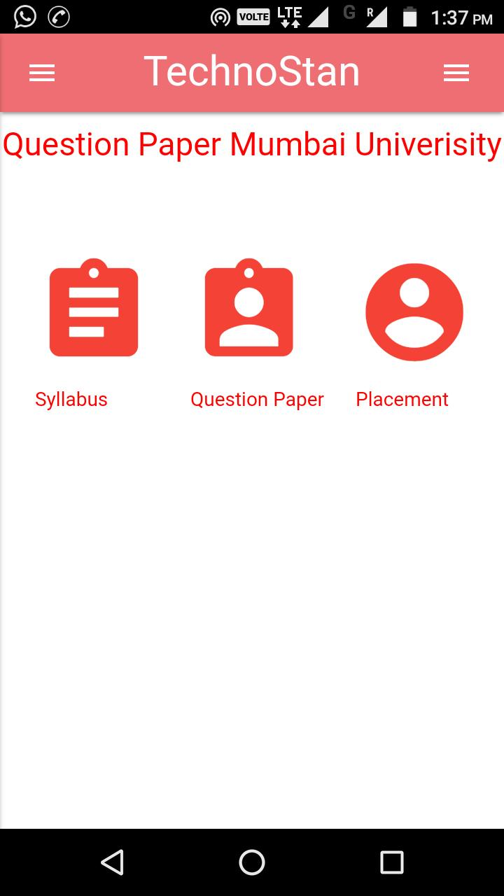 Question Paper Mumbai University for Android - APK Download