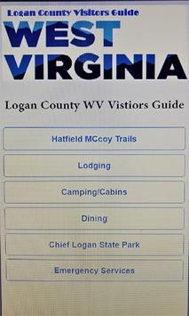 Logan County WV Visitors Guide poster