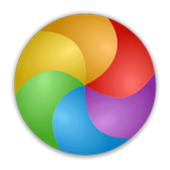 Color mixing icon