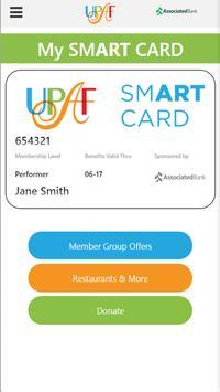 UPAF Smart Card poster
