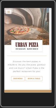 Restaurant Urban Pizza poster