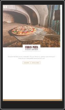 Restaurant Urban Pizza screenshot 1