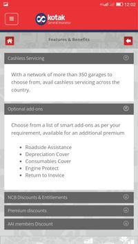 Kotak General Insurance apk screenshot