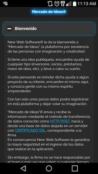 Mercado de Ideas apk screenshot